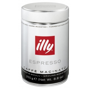 ILLY COFFEE DARK ROAST UK ONLY