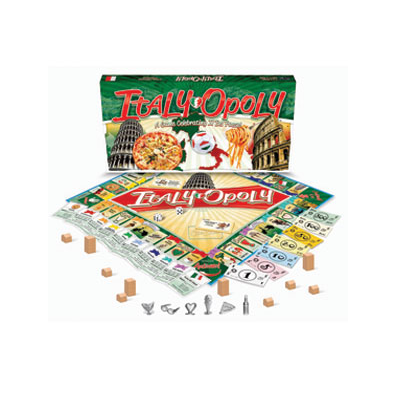 ITALY-OPOLY BOARD GAME - THE..