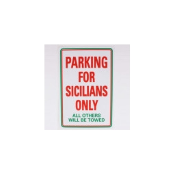 ´PARKING FOR SICILIANS ..