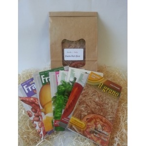 PASTA SEED COLLECTION WITH SARACENO BUCK WHEAT PASTA GRAINS by Franchi Seeds