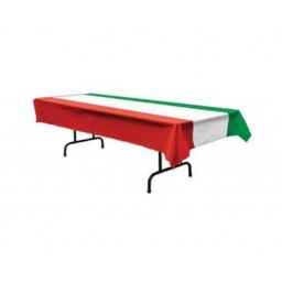 Italian Flag Tablecoth