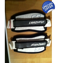 Crazyfly Quick Fix Footstraps Pair Small and Regular