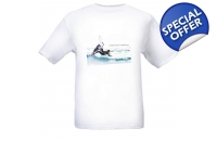 Kitesurfing T-Shirt Back ..