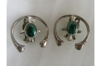 Sterling & Malachite Cl..