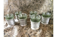 Antique Pewter Tea Slee..