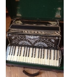 Camroni 1930´s 120 bass accordion - awaiting new bellows Autumn 2013