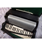 SCANDALLI 120 BASS ACCORDION With brand new cust..