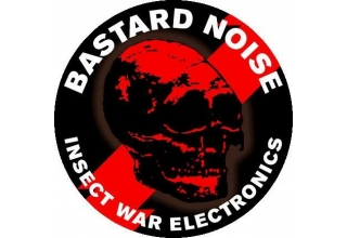 BASTARD NOISE INSECT WAR ELECTRONICS Button