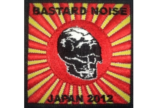 Patch: Bastard Noise Embroidered Tour Patch Japan 2012