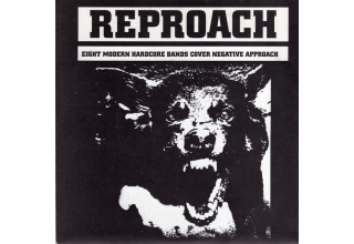 Various ‎– Reproach 8 Modern Hardcore Bands Cover Negative Approach Original Pressing