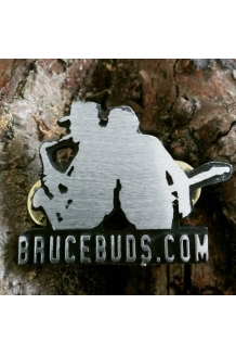 BruceBuds Born To Run Logo Pin Badge