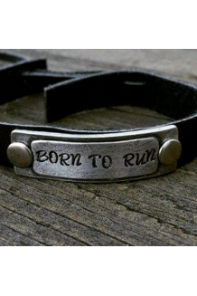 BruceBuds Pewter Wristband