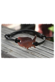 Brucebuds USA Copper Wristband