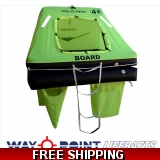 4 Person Waypoint Offshore Plus Liferaft