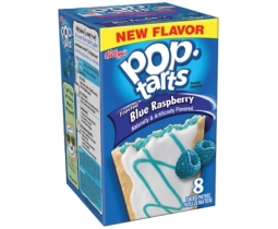 Frosted Blue Raspberry Pop Tarts x 8 pastries