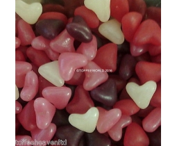 Jelly Love Heart Beans Assorted Fruit Flavoured Sweets