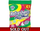 Refreshers Fizz Balls Candy Land Fizzy..