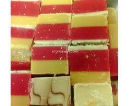 Cherry Bakewell Flavour Fudge From The Fudge Factory