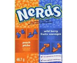 Nerds Wildberry and Peach Tiny Sweets