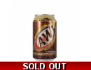 A&W Original American Root Beer Cans U..
