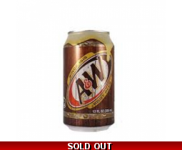 A&W Original American Root Beer Cans USA Import