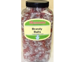 Maxons Original Brandy Balls Sweets Wholesale Jar