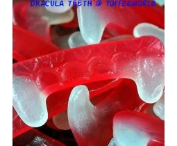 Dracula Fang Teeth Halloween Gummy Retro Sweets