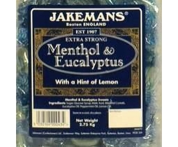 Jakemans Menthol & Eucylptus Traditional Sweets