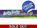 Wonka Sour Apple Laffy Taffy Chew Bars..