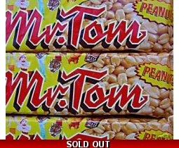 Mr. Tom Original Peanut Bars sweets x 4