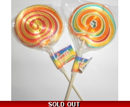 Yummys Rainbow Lollies Handmade Lolly Pops