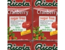 Ricola Cranberry Sugar ..
