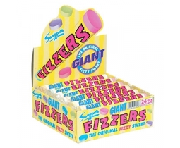 Swizzels Giant Fizzers Full Wholesale 24 Pack Box