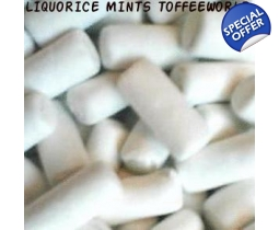 Liquorice Mints Dragees Aka School Chalks Retro Sweets