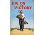 WW2 DIG ON FOR VICTORY POSTER