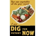 WW2 IF YOU DIG ON FOR VICTORY POSTER