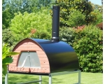 PIZZA OVEN WOOD BURNING/SMOKER. 70x70cm/ 55KG, P..