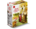 BORMIOLI OLIVE OIL & VINEGAR POURER GIFT BOX UK..