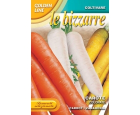 LE BIZZARRE MIXED COLOUR CARROTS