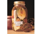 BORMIOLI SINGLE 1LTR JAR with DEEP PRESERVING LI..