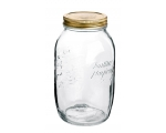 BORMIOLI SINGLE QUATTRO STAGIONI 1.5l jar and li..