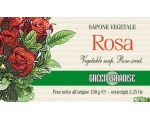 GP ROSE VEGETABLE SOAP ROSA UK ONLY
