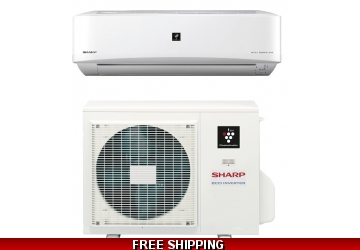 Sharp 24000 BTU 18 SEER Ductless Mini Split Heat Pump AC