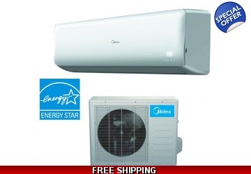 Midea 18000 BTU 21 SEER Super Inverter Mini Split Heat Pump AC