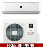 Sharp 9000 BTU 22 SEER Ductless Mini Split Heat Pump AC