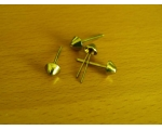 8mm Brass Spike head handbag/purse feet/studs pa..