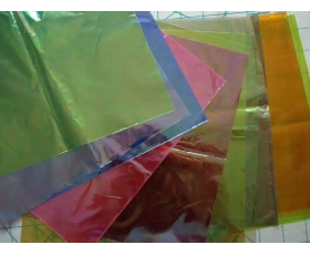 MYLAR special effects craft film COLOURED OPAL PACK