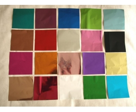 "Mylar 4"" square all colour pack"