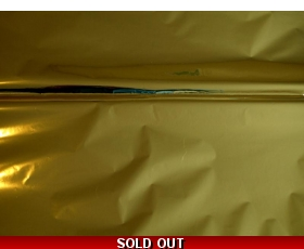MYLAR special effects craft film GOLD