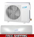 AirCon 18000 BTU 18 SEER Mini Split Heat Pump AC with Mitsubishi Comp